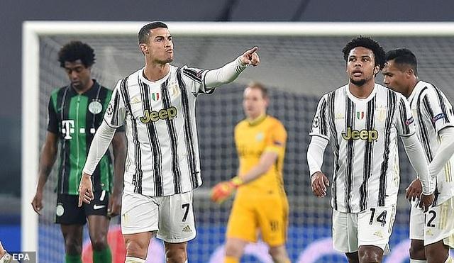 C.Ronaldo ghi bàn, Juventus giành vé đi tiếp ở Champions League - 3