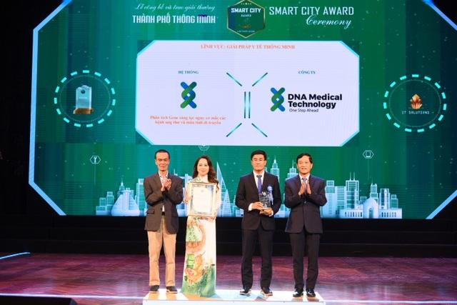 DNA Medical Technology đoạt giải thưởng giải pháp y tế thông minh - 1
