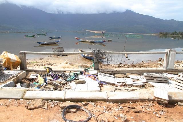 Đường trăm tỷ tan hoang sau bão - 11