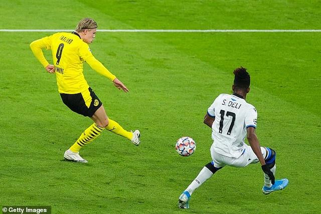 Dortmund 3-0 Club Brugge: Màn tỏa sáng của Haaland và Sancho - 1