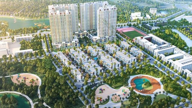 Khai Sơn Hill hút khách với dòng biệt thự bể bơi riêng - 1