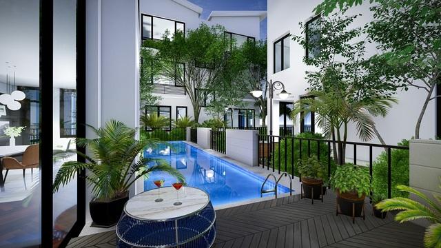 Khai Sơn Hill hút khách với dòng biệt thự bể bơi riêng - 3