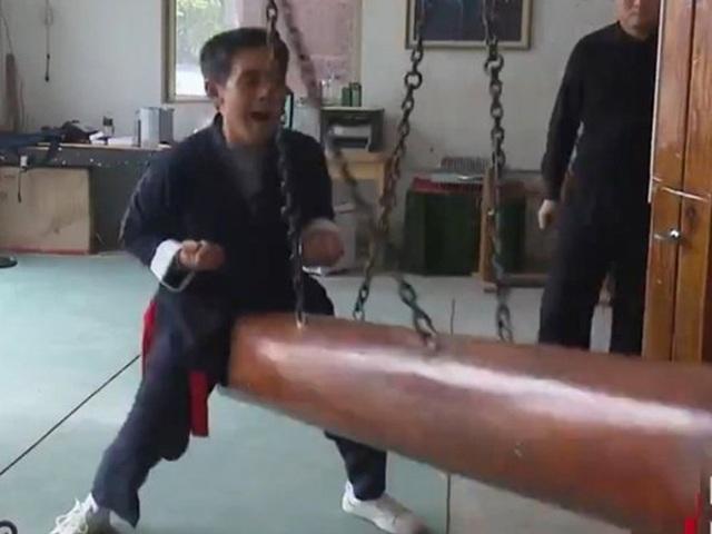 Môn công phu cực kỳ lạ, rợn người ở Trung Quốc - 1