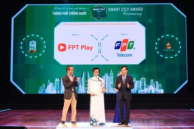 """""""FPT Telecom chiếm trọn 3 Giải thưởng Thành phố Thông minh Việt Nam 2020"""" - 3"""