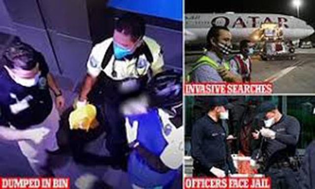 """Vụ """"khám xét khỏa thân"""" tại sân bay: Qatar tìm thấy mẹ bỏ con - 1"""