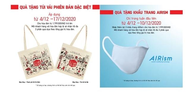 UNIQLO mang nhiều ưu đãi cho khách hàng kỷ niệm một năm đến Việt Nam - 2