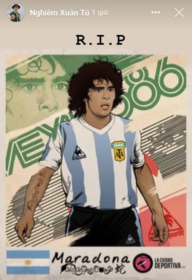 Giới bóng đá Việt Nam tiếc thương sự ra đi của Diego Maradona - 2
