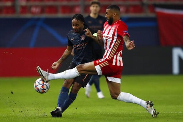 Thắng nhẹ Olympiacos, Man City sớm vượt qua vòng bảng - 3
