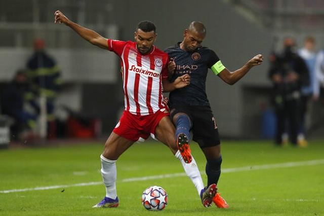 Thắng nhẹ Olympiacos, Man City sớm vượt qua vòng bảng - 2