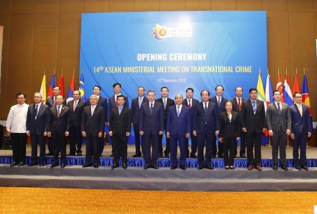 Toàn văn tuyên bố chung hội nghị Bộ trưởng ASEAN về phòng, chống tội phạm