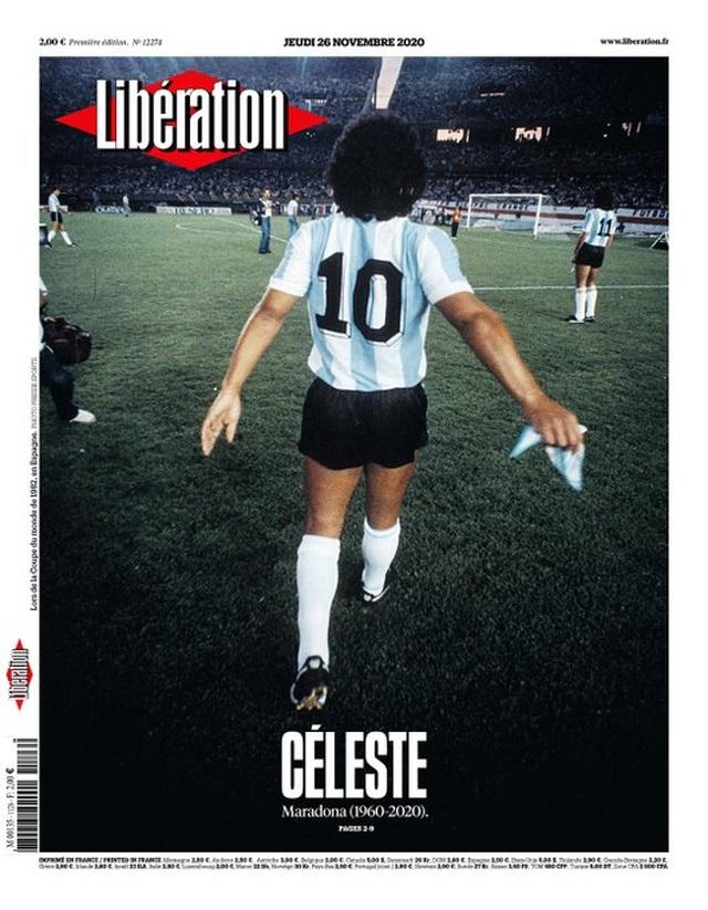 Báo chí thế giới tiếc thương cho sự ra đi của huyền thoại Maradona - 8