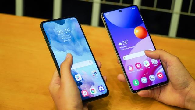 Vsmart Aris Pro đọ dáng cùng Galaxy M51: 10 triệu đồng chọn smartphone nào? - 3