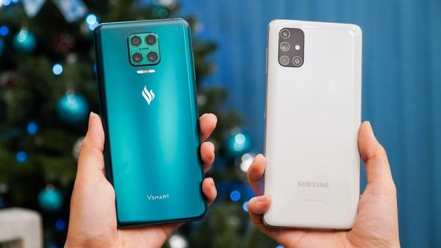 Vsmart Aris Pro đọ dáng cùng Galaxy M51: 10 triệu đồng chọn smartphone nào? - 2