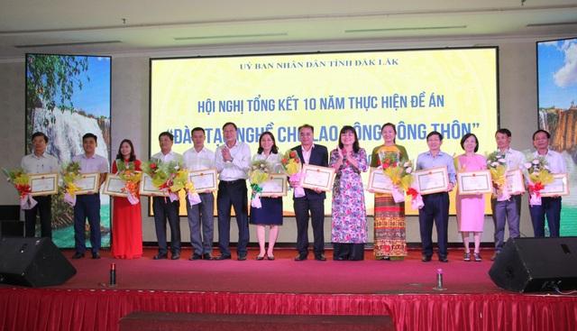 Đắk Lắk: 10 năm, trên 35.000 người lao động nông thôn được đào tạo nghề - 3