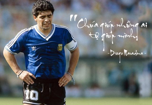25 câu nói bất hủ của huyền thoại Diego Maradona - 3