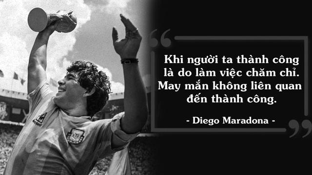 25 câu nói bất hủ của huyền thoại Diego Maradona - 1