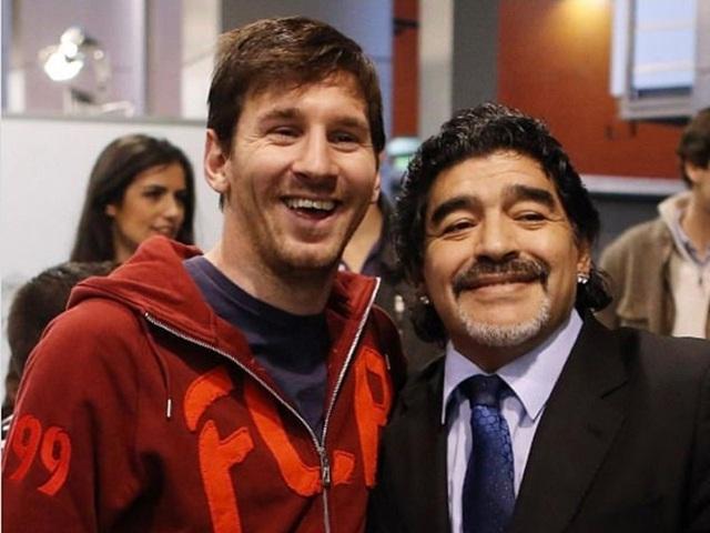Lionel Messi có phải là bản sao của Diego Maradona? - 3