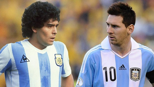 Lionel Messi có phải là bản sao của Diego Maradona? - 1