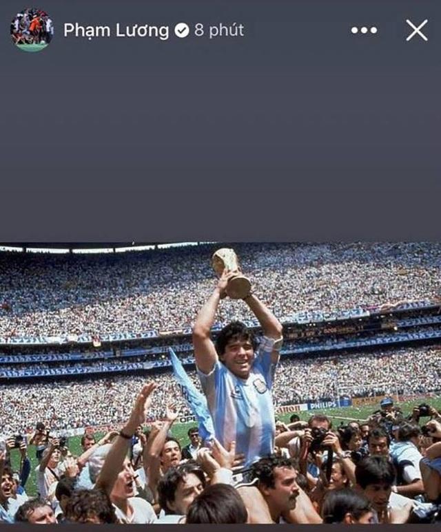 Giới bóng đá Việt Nam tiếc thương sự ra đi của Diego Maradona - 5