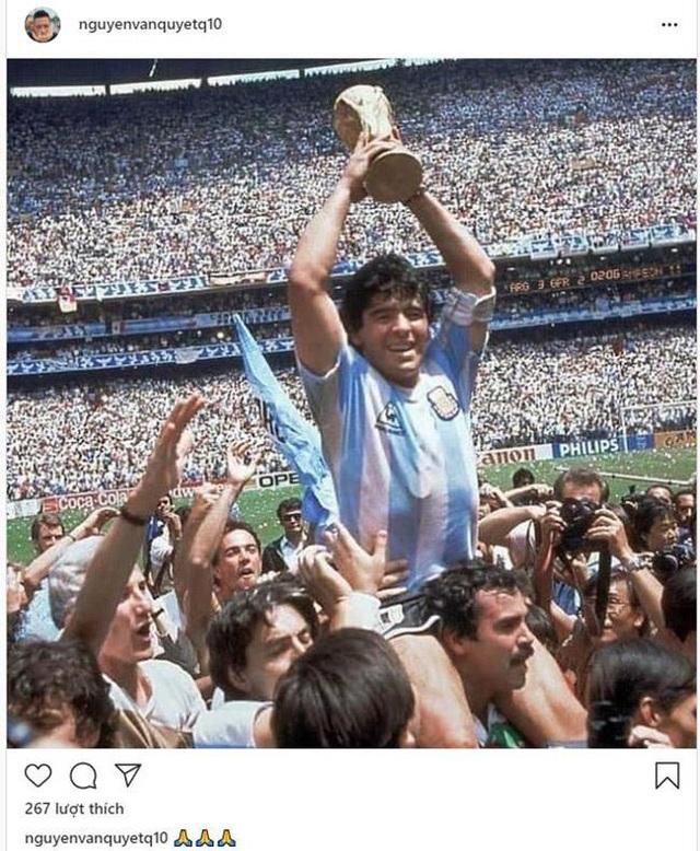 Giới bóng đá Việt Nam tiếc thương sự ra đi của Diego Maradona - 3