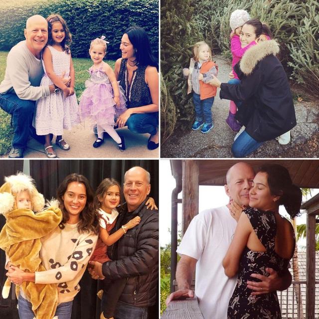 Hình ảnh hạnh phúc của ngôi sao U70 Bruce Willis bên vợ trẻ và hai con nhỏ - 4