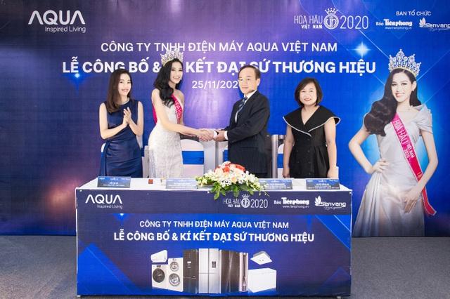 AQUA Việt Nam công bố Đỗ Thị Hà - Hoa hậu Việt Nam 2020 là đại sứ thương hiệu năm 2021 - 3
