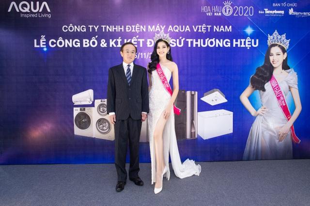 AQUA Việt Nam công bố Đỗ Thị Hà - Hoa hậu Việt Nam 2020 là đại sứ thương hiệu năm 2021 - 4
