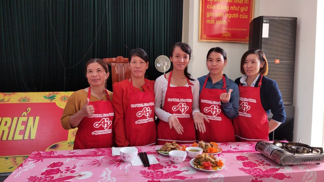 Cùng Ajinomoto chăm sóc bữa cơm gia đình Việt - 2