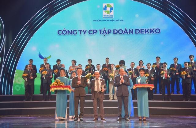 Tập đoàn Dekko đạt danh hiệu Thương hiệu quốc gia Việt Nam 2020 - 2