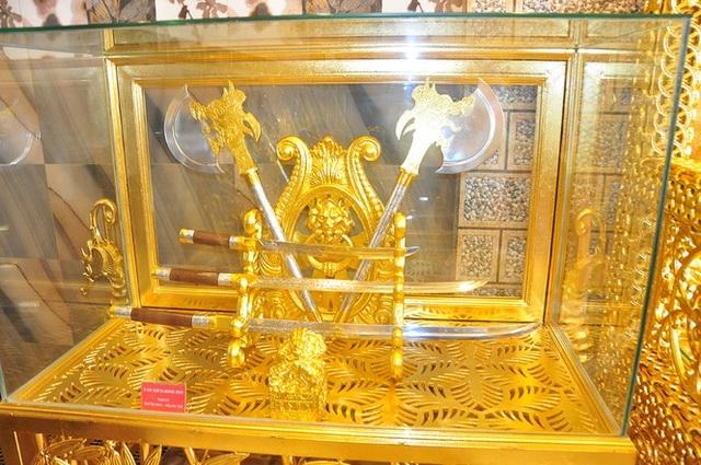Ngôi nhà dát vàng độc nhất vô nhị giữa lòng Tây Đô - 4