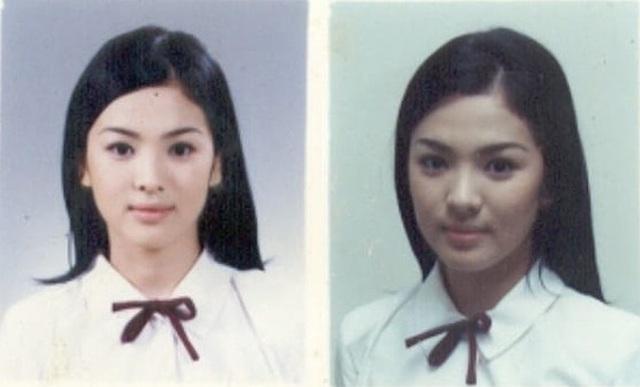 Nhan sắc nổi bật thời đi học của Song Hye Kyo - 1