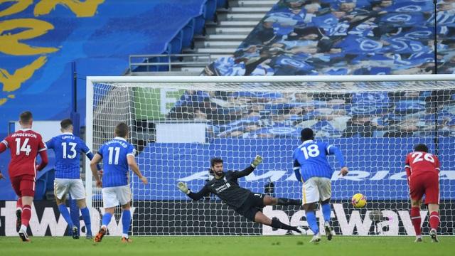 Liverpool tuột chiến thắng trước Brighton ở phút bù giờ - 3
