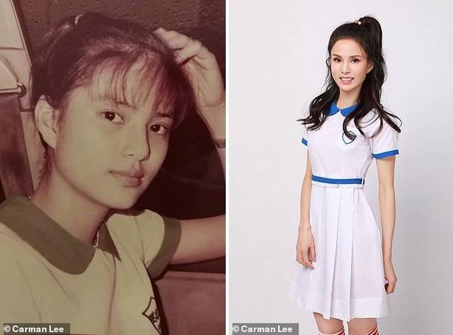 Lý Nhược Đồng vẫn mặc vừa đồng phục nữ sinh sau 37 năm - 1