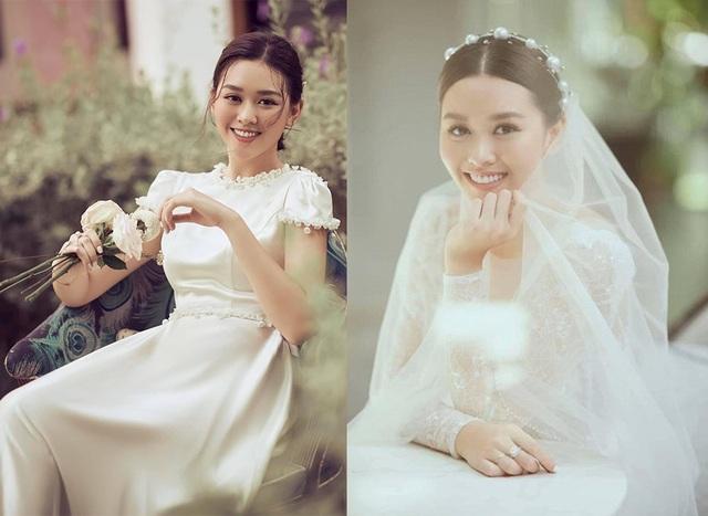 Á hậu Tường San rạng rỡ trong hình ảnh cô dâu - 1
