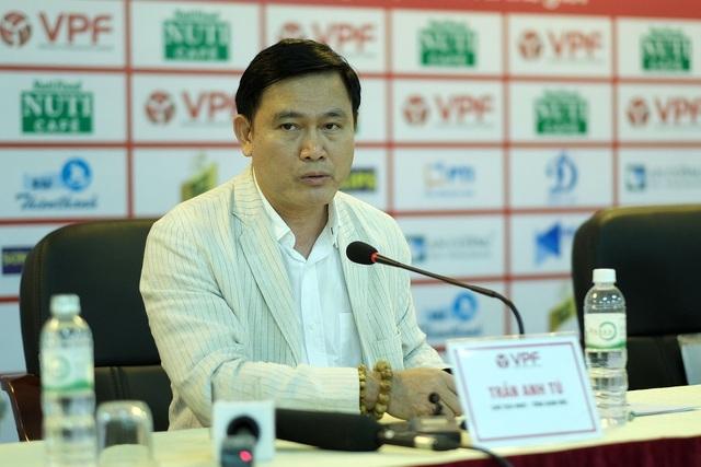 Ông Trần Anh Tú nhường ghế Tổng giám đốc, tái đắc cử Chủ tịch VPF - 1