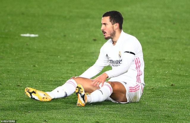 Eden Hazard gặp vận đen khó tin ở Real Madrid - 1