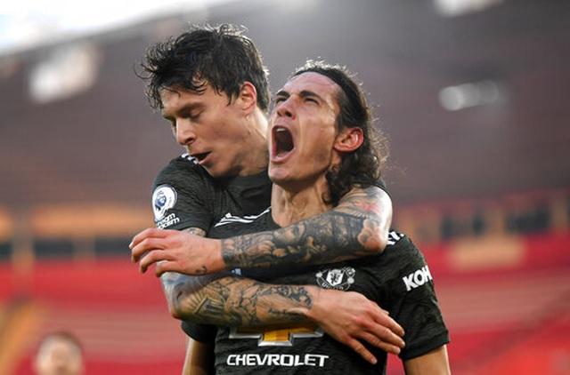 Cavani đạt điểm tuyệt đối trong màn ngược dòng của Man Utd - 4