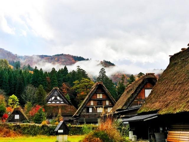 Những cảnh sắc hiếm có khó tìm ở nước Nhật tháng 11 - 4