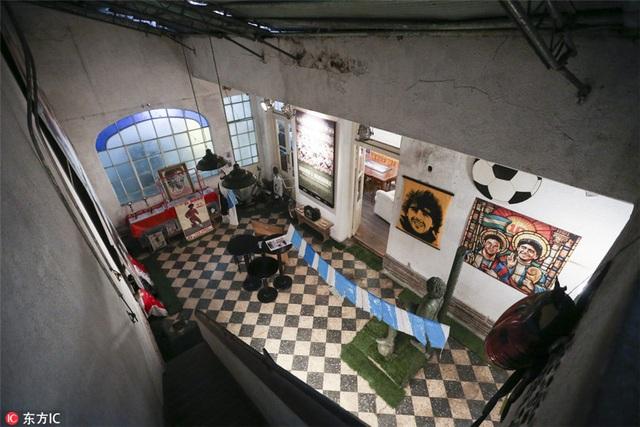 Bất ngờ căn nhà giản dị của huyền thoại Maradona thuở chưa nổi tiếng - 1
