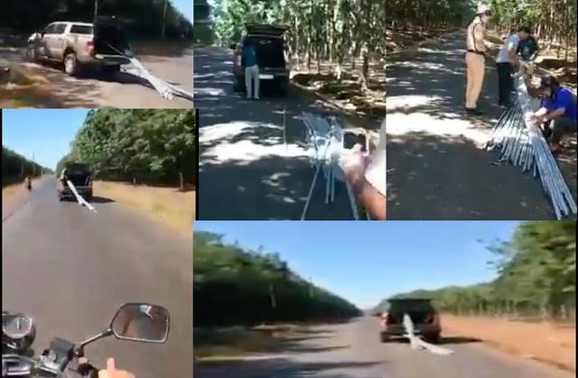 Xử phạt giám đốc nông trường lái xe vi phạm chạy trốn CSGT - 1