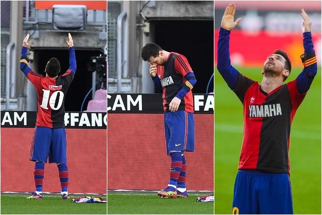 Messi sẽ bị phạt vì hành động tri ân huyền thoại Maradona - 1