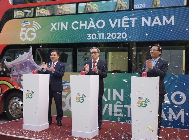 5G: Viettel kinh doanh thử nghiệm tại HN, MobiFone phát sóng tại TP.HCM - 1