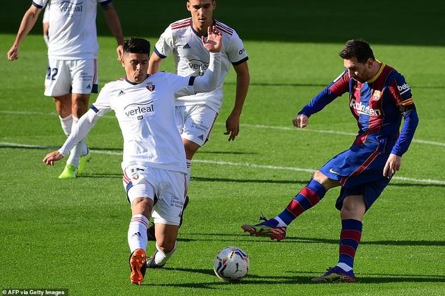 Barcelona thắng đậm Osasuna trong ngày Messi tri ân Maradona - 7