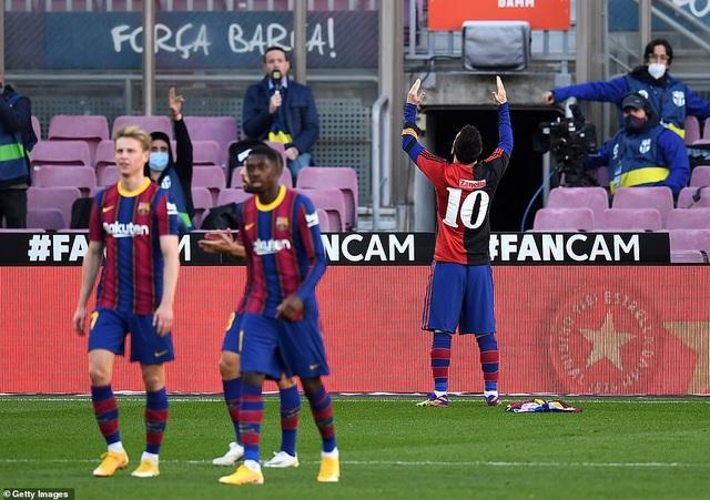 Barcelona thắng đậm Osasuna trong ngày Messi tri ân Maradona - 10