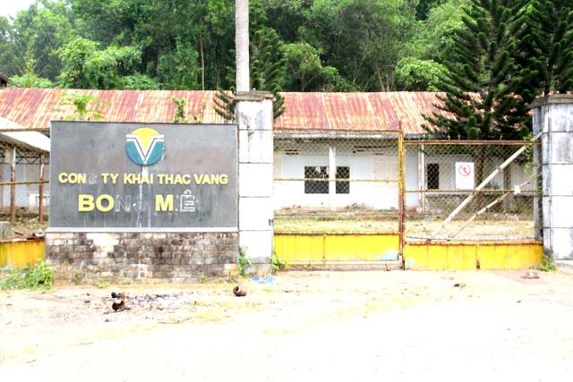 Quảng Nam đề nghị đẩy nhanh tiến độ đóng cửa mỏ vàng Bồng Miêu - 1