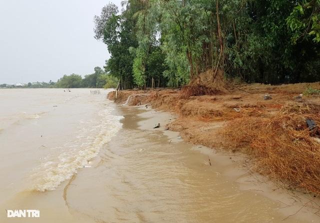Nha Trang ngập nhiều nơi, bờ sông Cái sạt lở hở hàm ếch - 1