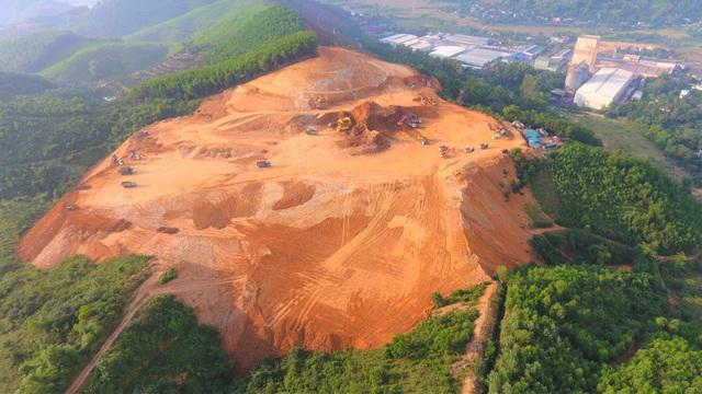 Dự án 500 tỷ đồng không phép ồ ạt san ủi mặt bằng để xây dựng - 1