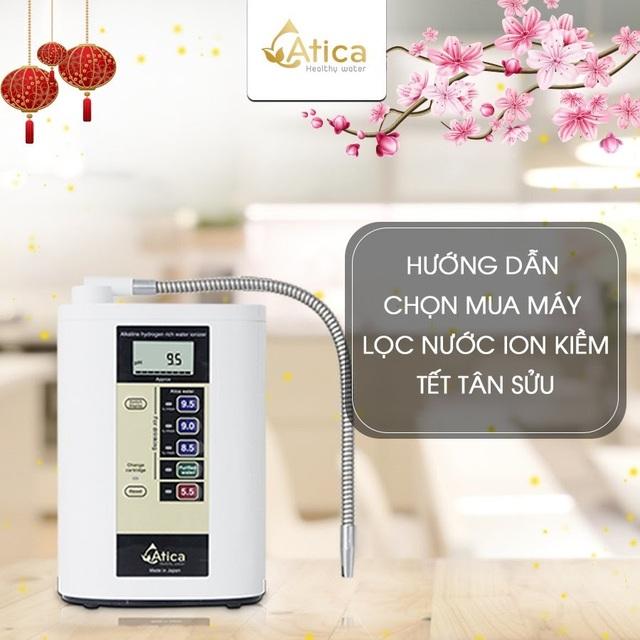 Hướng dẫn chọn mua máy lọc nước ion kiềm Tết Tân Sửu - 1