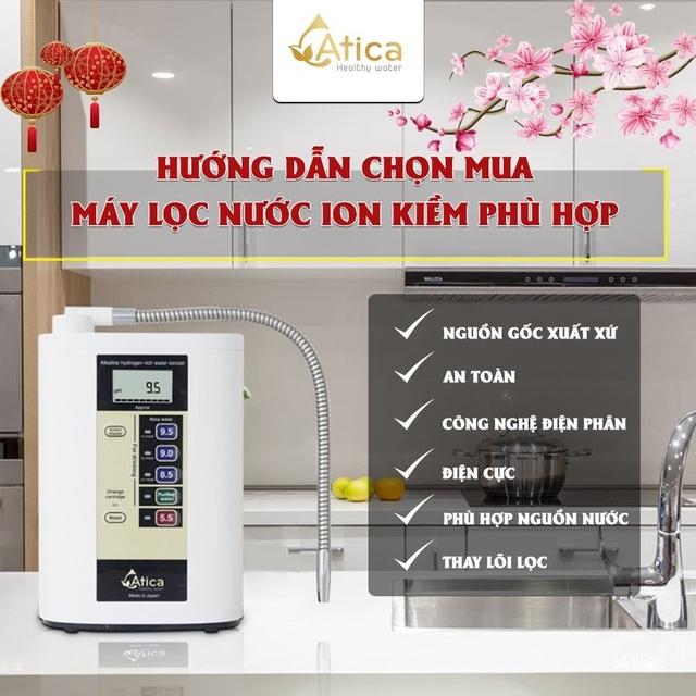 Hướng dẫn chọn mua máy lọc nước ion kiềm Tết Tân Sửu - 2