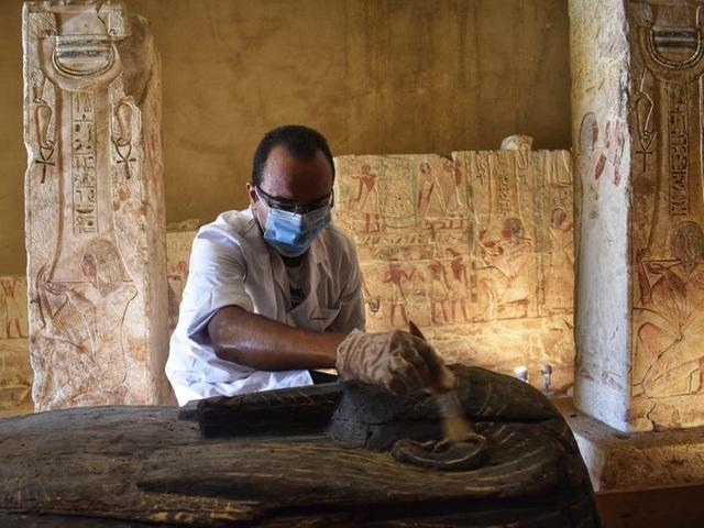 Bí ẩn lời nguyền trong mộ cổ hàng nghìn năm để bảo vệ xác ướp - 3